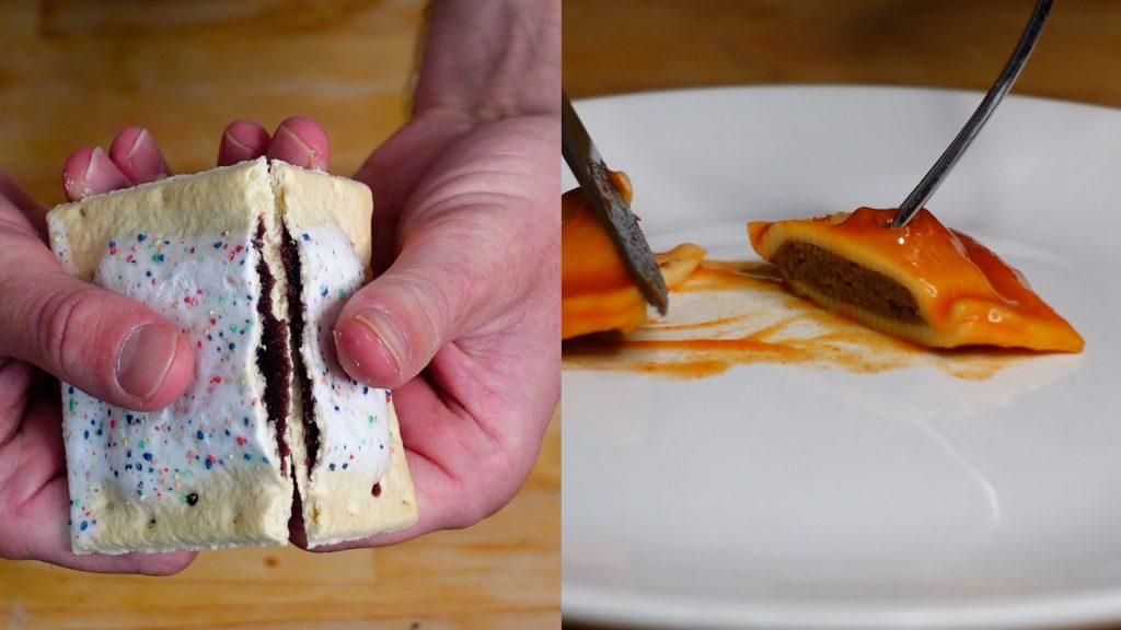 pop-tart ravioli