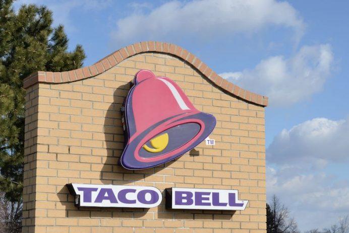 Taco Bell potato burrito
