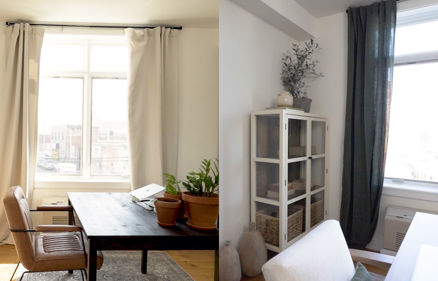 Before and After: This Brooklyn home office gets a California-inspired makeover with just $1,000