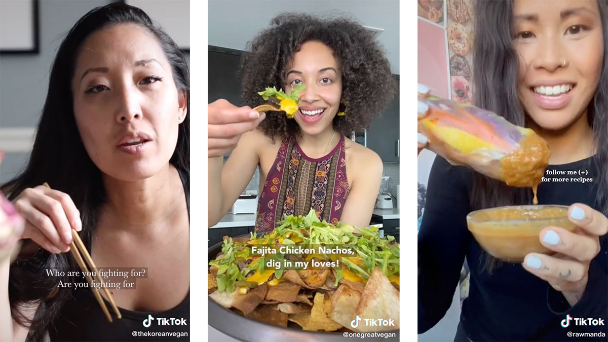 5 vegan TikTok foodies you need to follow