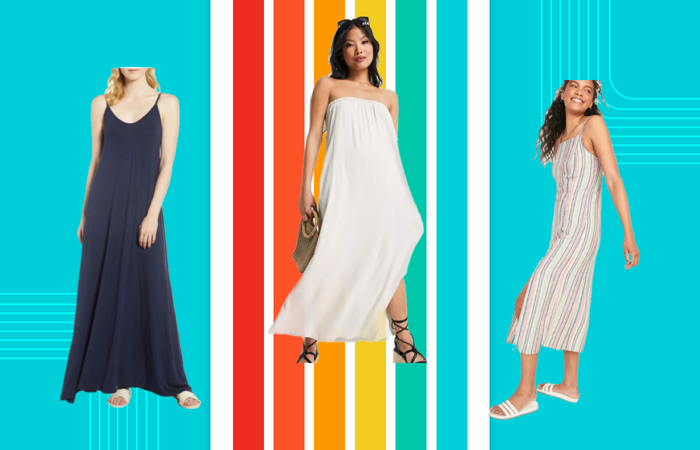 Yes, petite people can wear maxi dresses — here are 6 must-buy styles for the 5'4 and under set