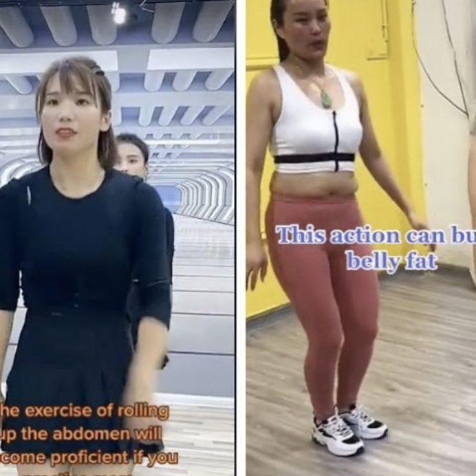 tiktok belly dance workout