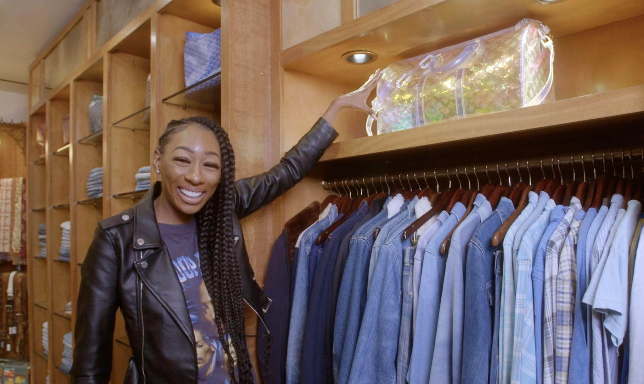 Comedian LaLa lives out her high school fantasy and splurges on vintage Chanel and Louis Vuitton