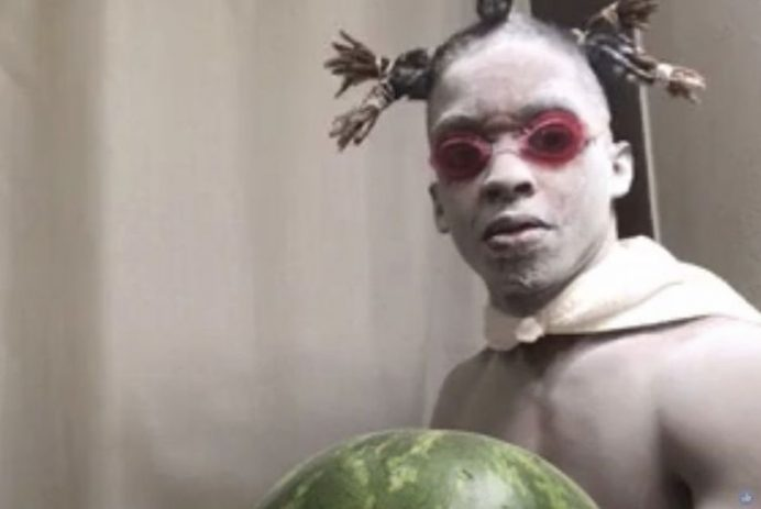 watermelon rubber band guy