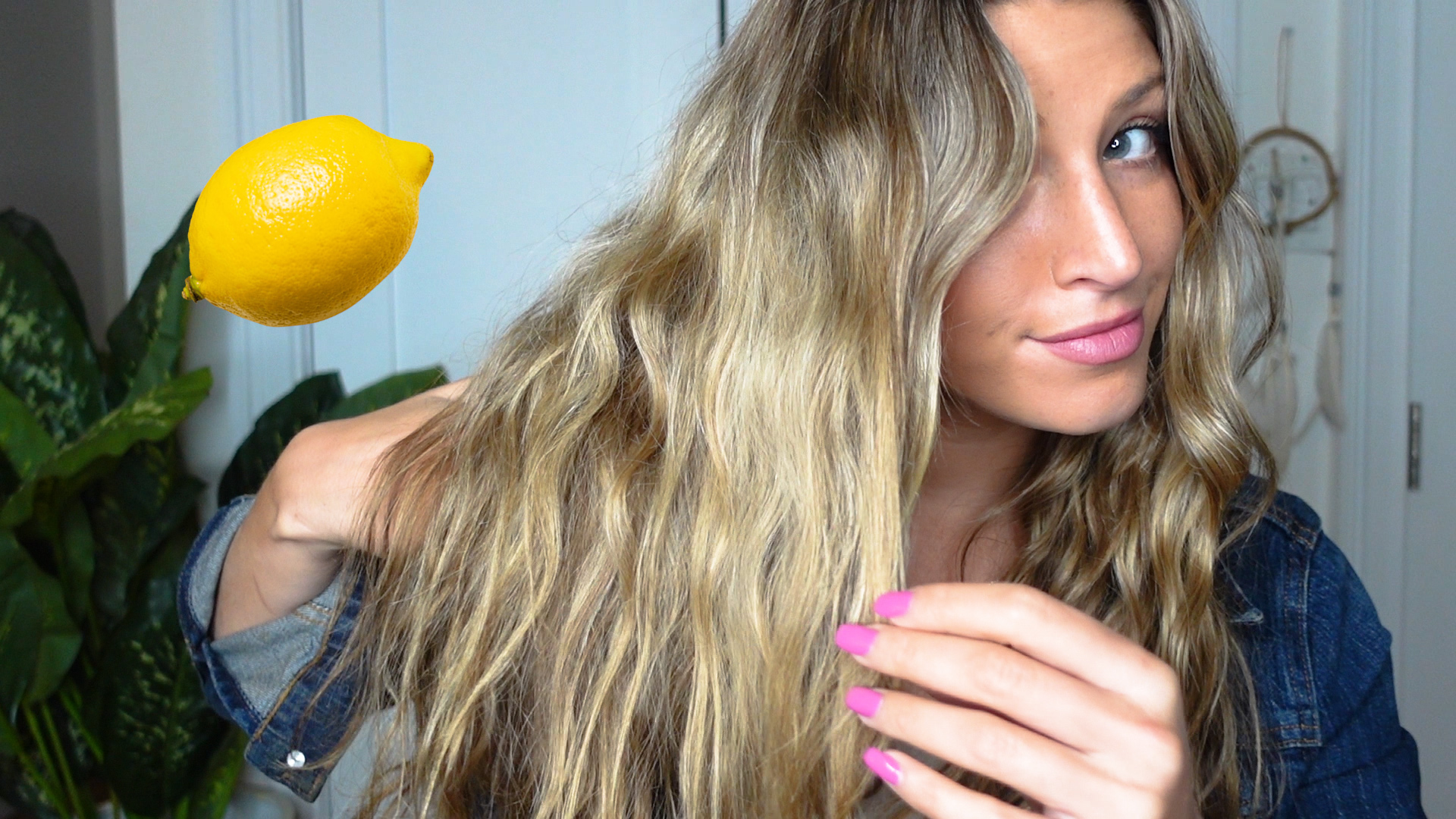 How to make your own natural, 3-ingredient hair lightener for the summer