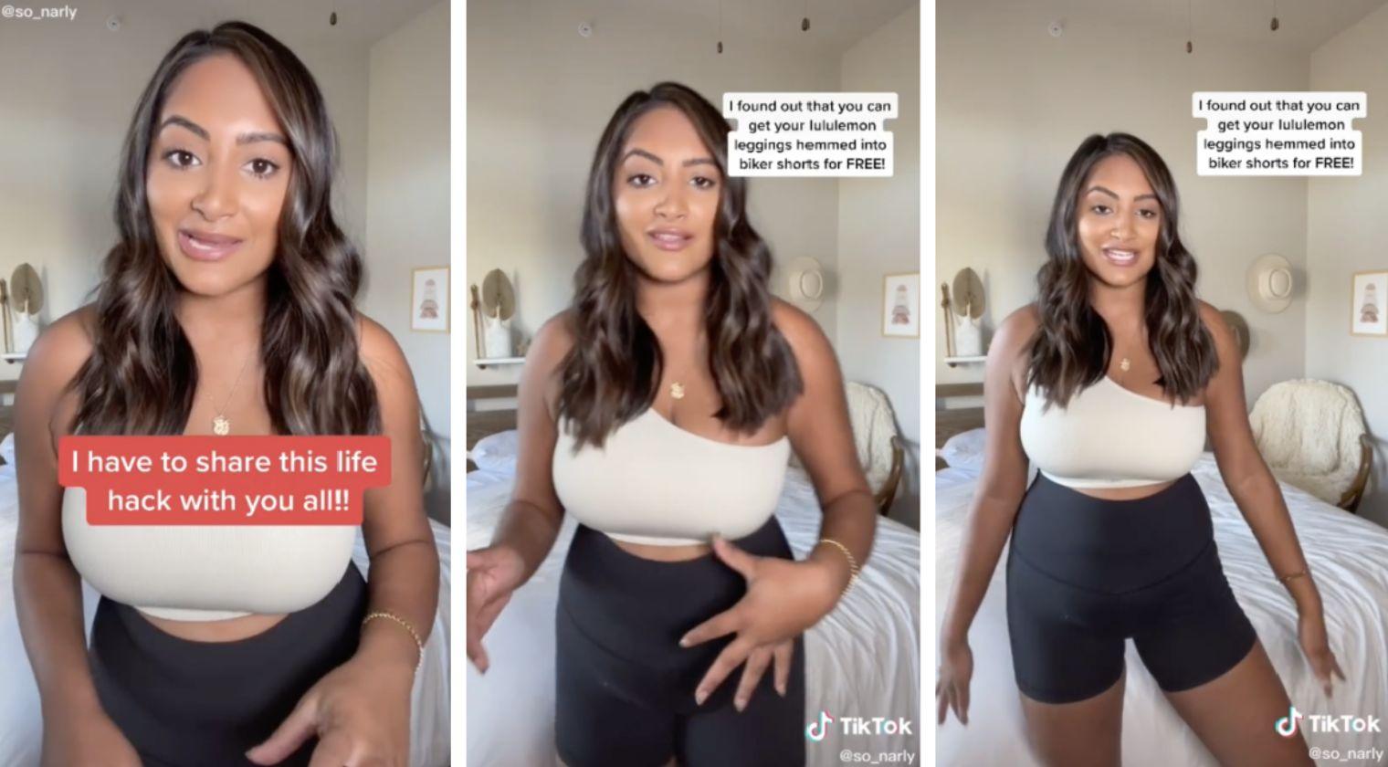 Lululemon leggings TikTok hack: 'I was shook when I found out'