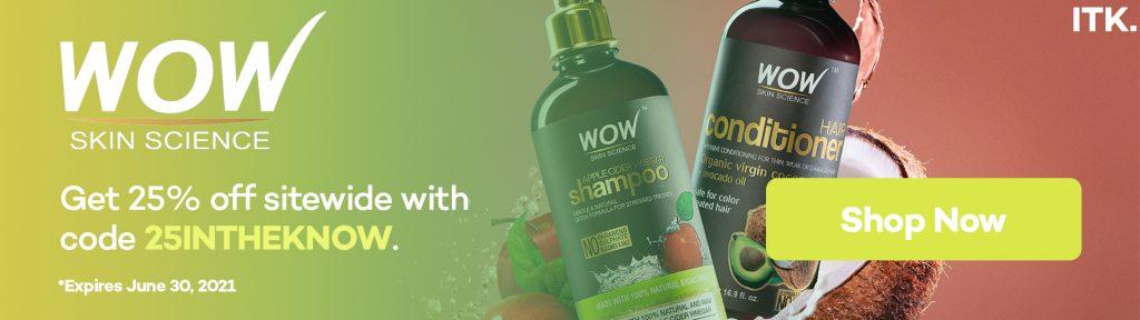 WOW shampoo promo code