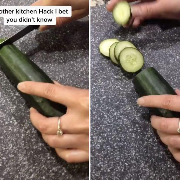 keep cucumbers fresh