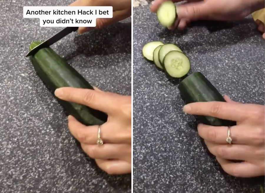 Home chef baffles TikTok with bizarre hack for keeping veggies from going bad