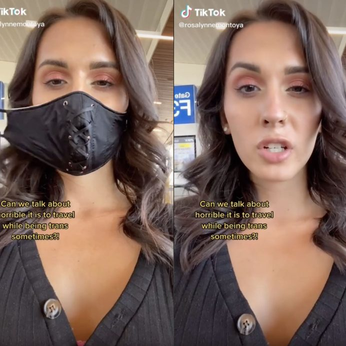 trans woman TSA