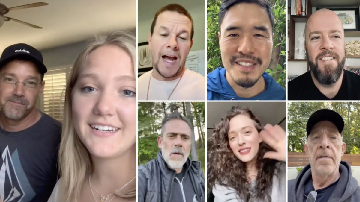 Dad secretly spends 6 months emailing celebrities to create epic graduation video for daughter: 'Omg how did he do this?'