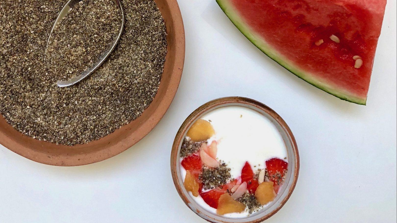 Watermelon seed powder