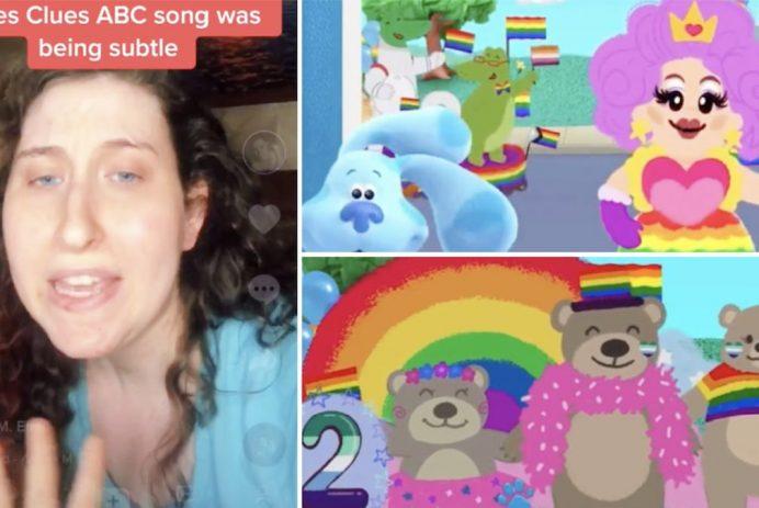 blues clues pride theme