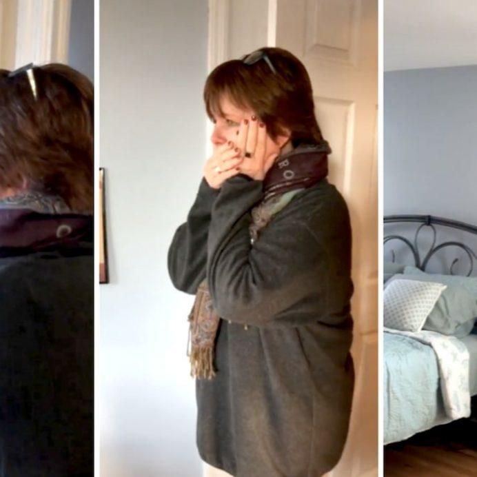 divorced mom room makeover