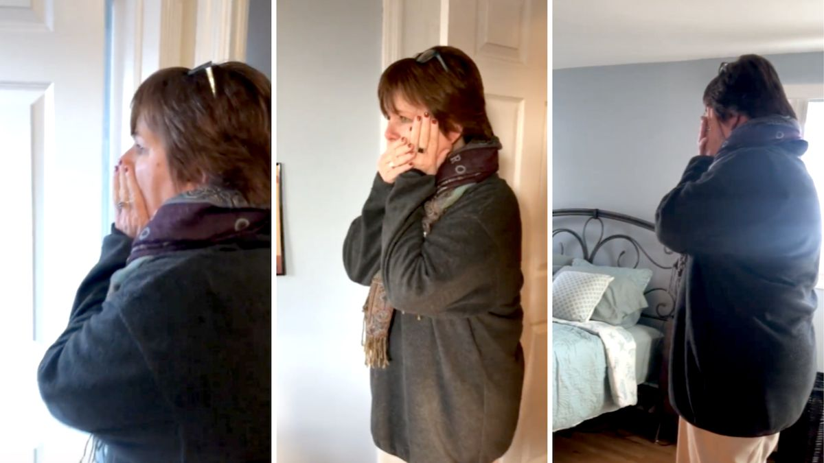 Millennial sisters make over divorced mom's bedroom in emotional TikTok: 'I'm crying my eyes out' - Yahoo Lifestyle