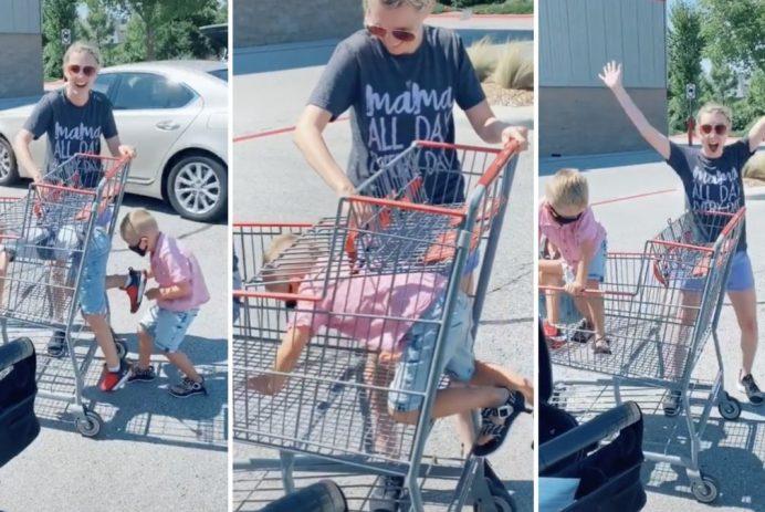 grocery cart hack