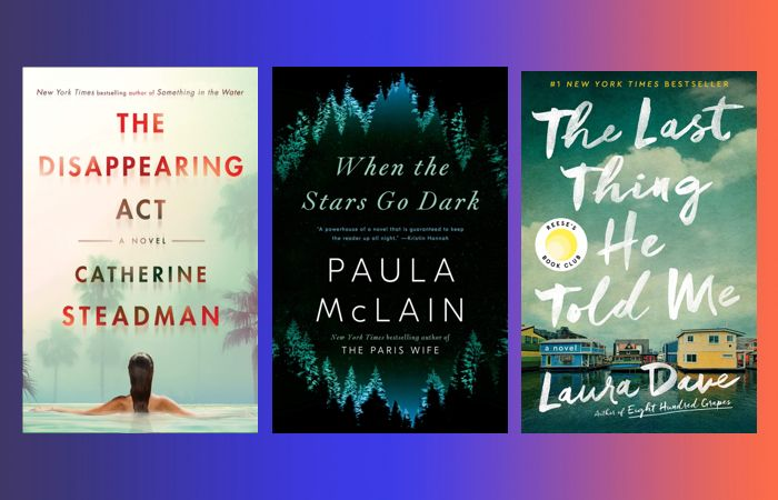 Prime Day book deals on mystery and thriller books like The Disappearing Act, When The Stars Go Dark and The Last Thing He Told Me.