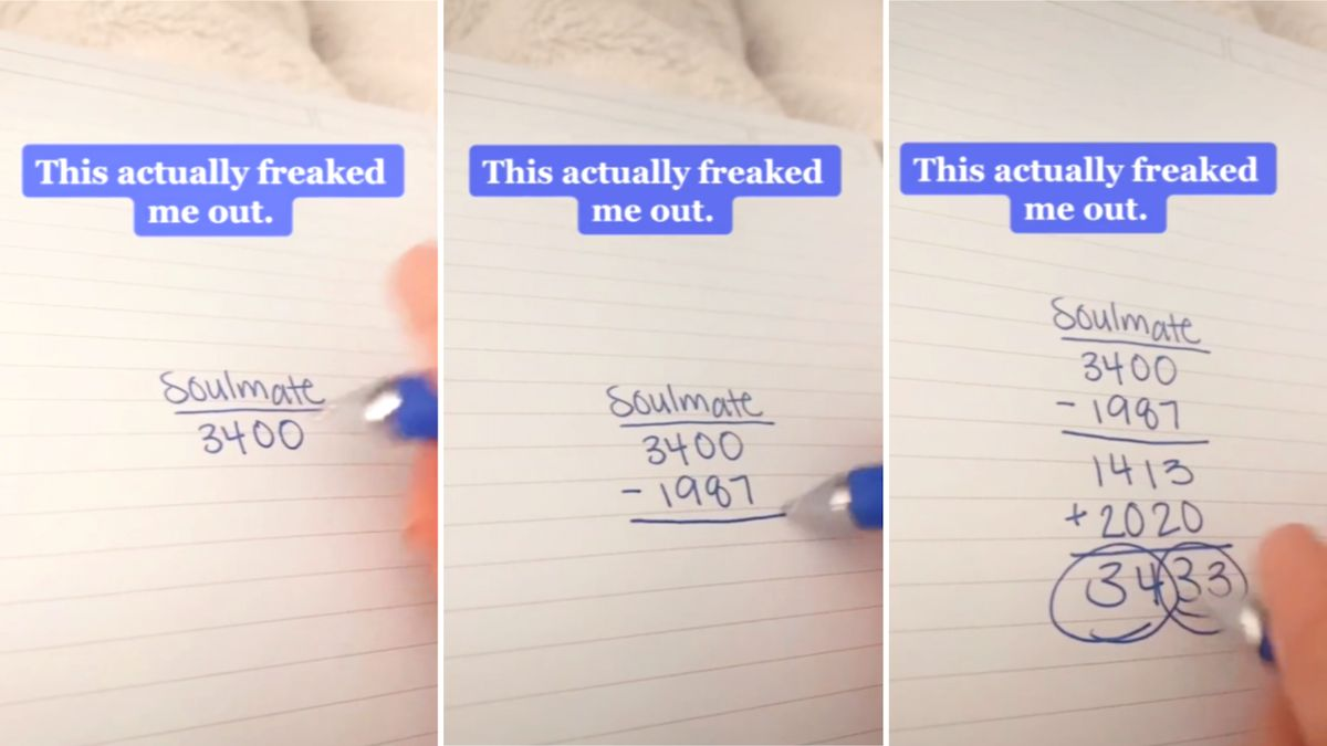 Mom tries spooky math trick to see if she's married to her soulmate: 'This actually freaked me out'