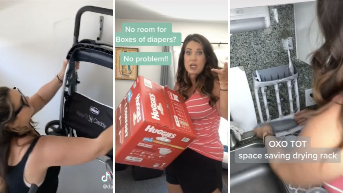 TikTok mom reveals 5 brilliant space-saving tips for parents living in small spaces