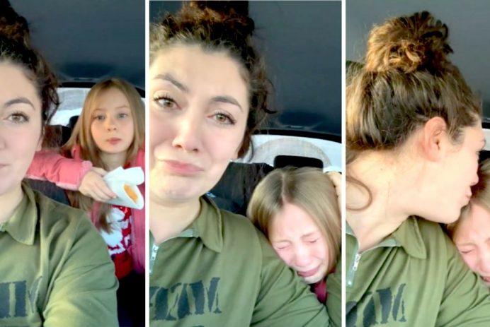 stepdaughter breaks down my girl song elvie shane