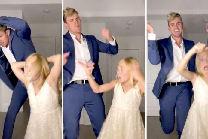 tiktok dad daddy daughter dance