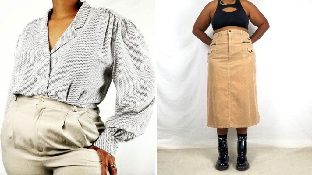 Find plus-size 90s clothes, grunge clothes, plus-size sweatshirts, vintage tees and more from Etsy shops for plus-size vintage clothes like New Nostalgia.