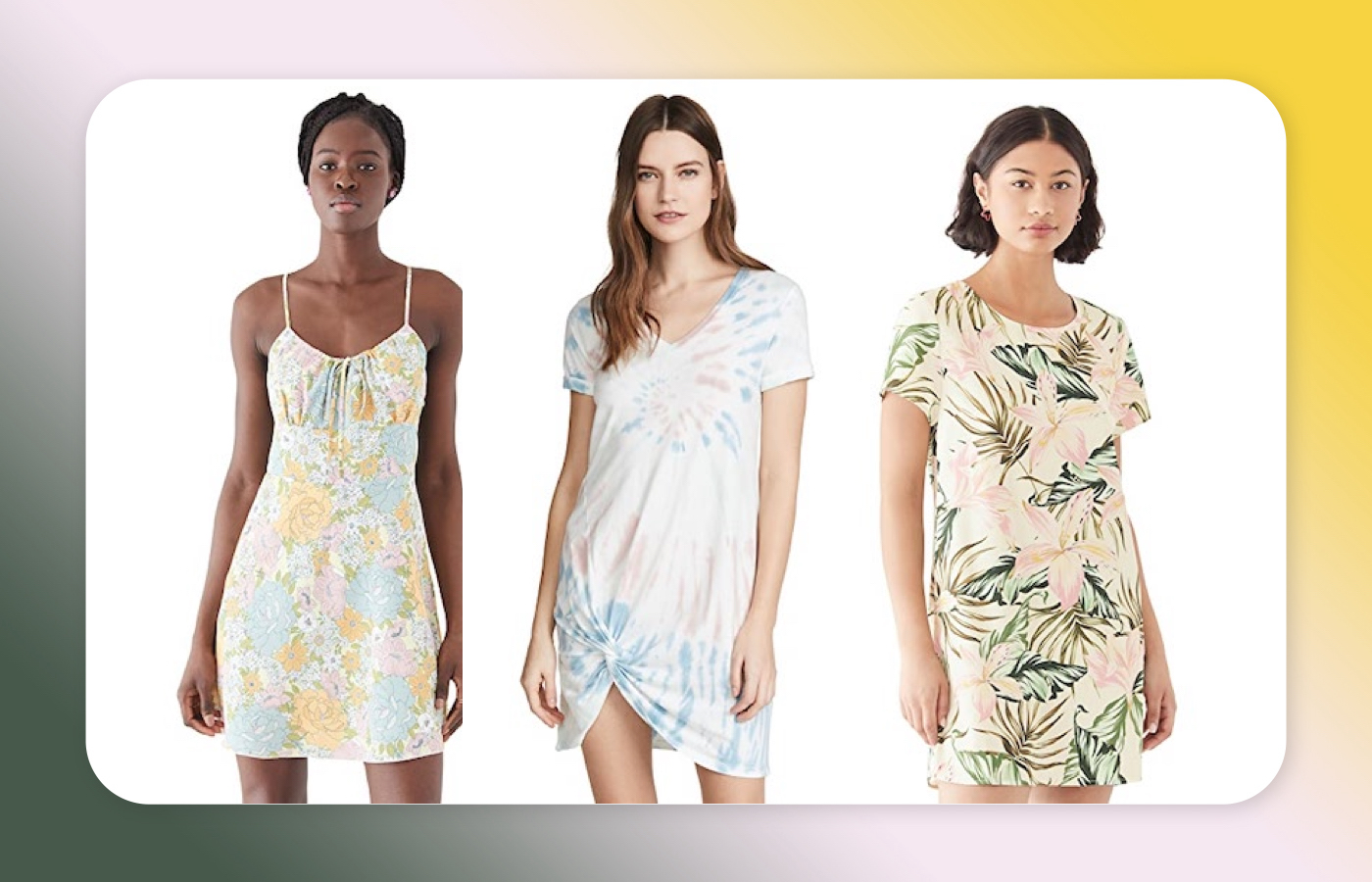 There are so many cute dresses on sale for under $50 at Shopbop right now