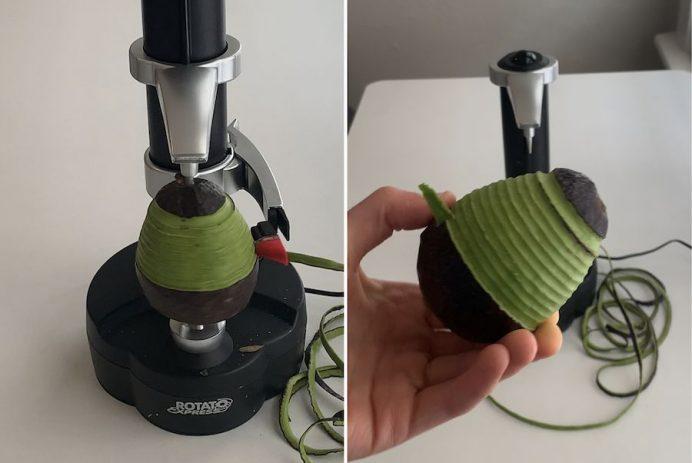 peel a potato without a peleer