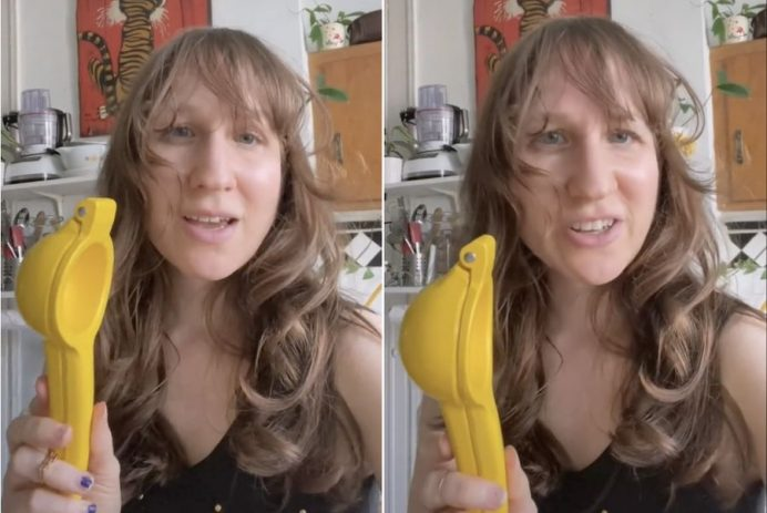 how to squeeze a lemon
