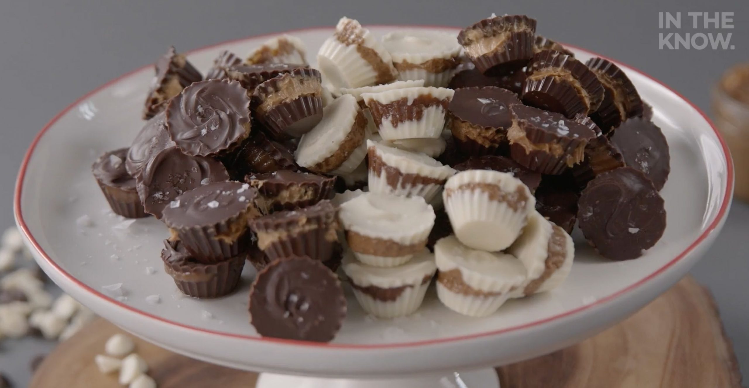 These mini nut butter cups are easy and fun to make