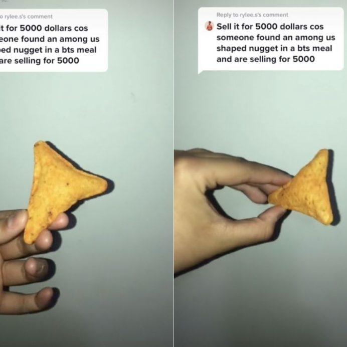 puffy Dorito chip