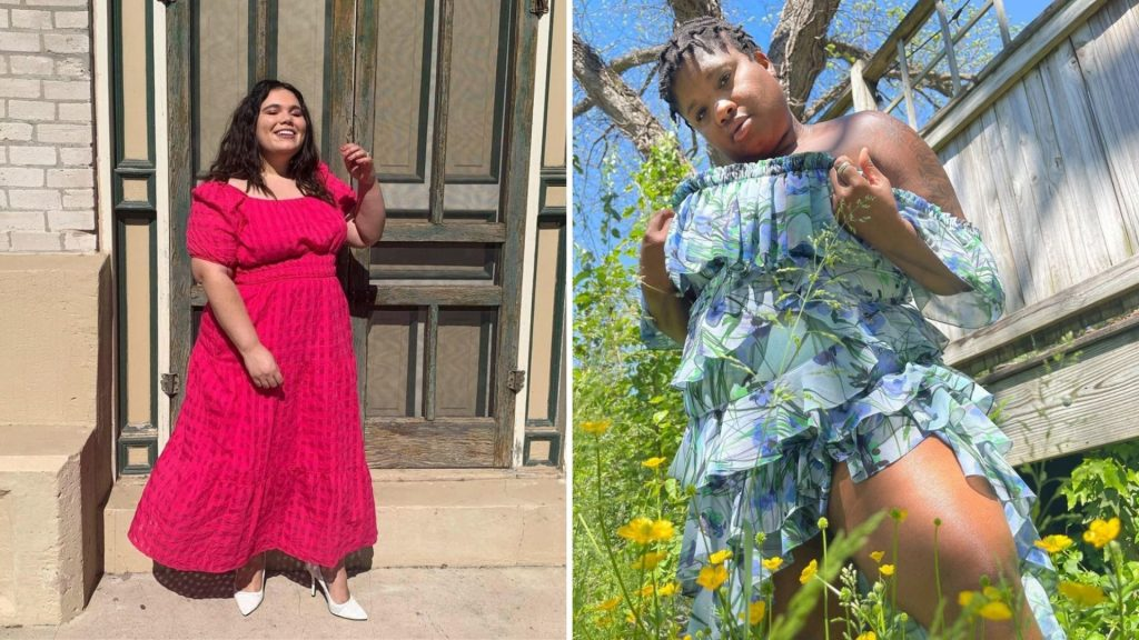 Find used plus-size designer clothes and dresses, maxi dresses, jeans and more from secondhand online stores like ThredUp.