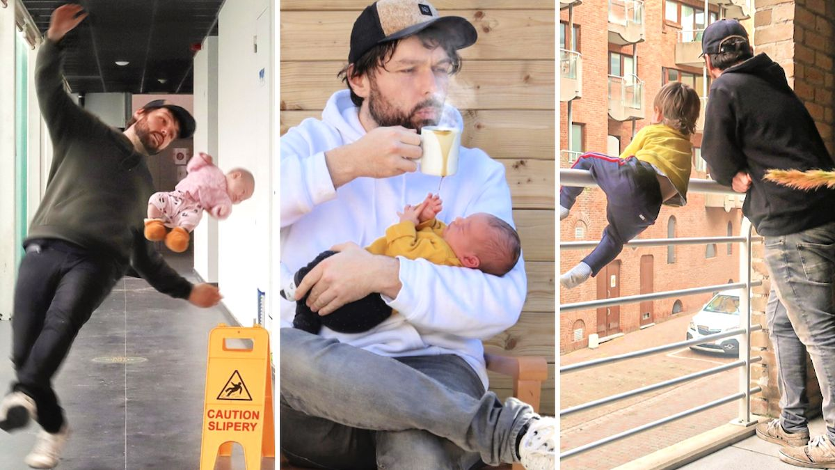 Creative dad goes viral for his hilariously Photoshopped 'fails': 'This gives me such anxiety'