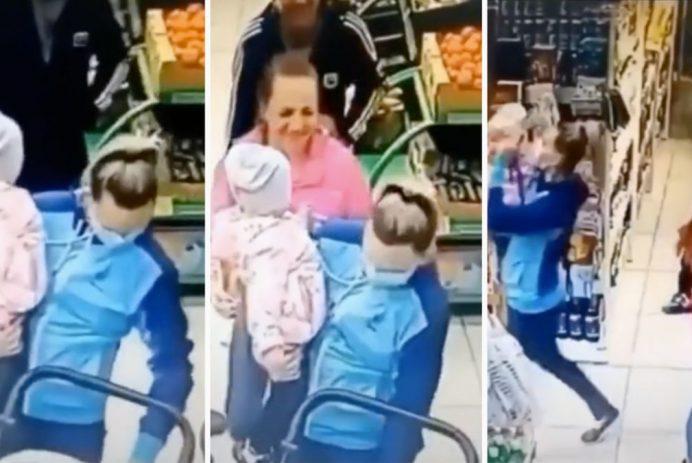 mom accidentally kidnaps toddler