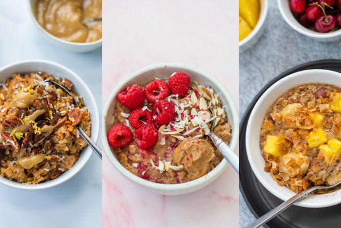 oatmeal three ways