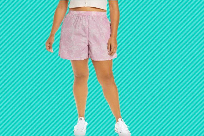 plus-size shorts