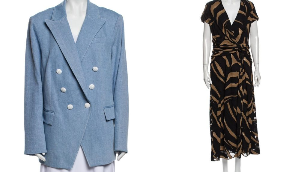 Find pre-owned, secondhand plus-size designer clothes and vintage clothes from designers like Prabal Gurung and Veronica Beard. Find used plus-size designer clothes like blazers, dresses, coats, outerwear, jackets and more.