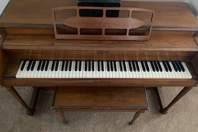 Craigslist piano