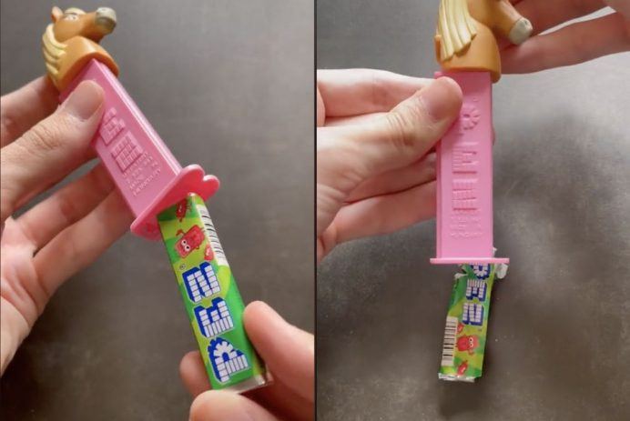 load PEZ without a wrapper