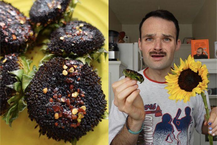 grilled sunflower