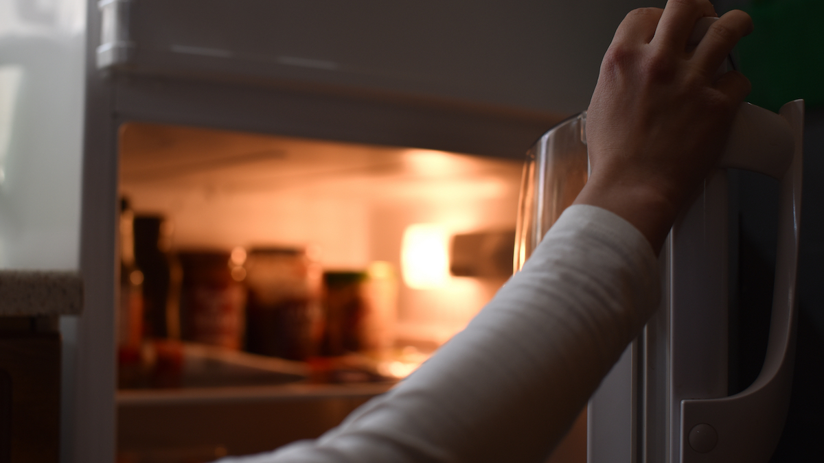 Woman concerned after discovering husband's mysterious item in their refrigerator: 'He is acting super suspicious'