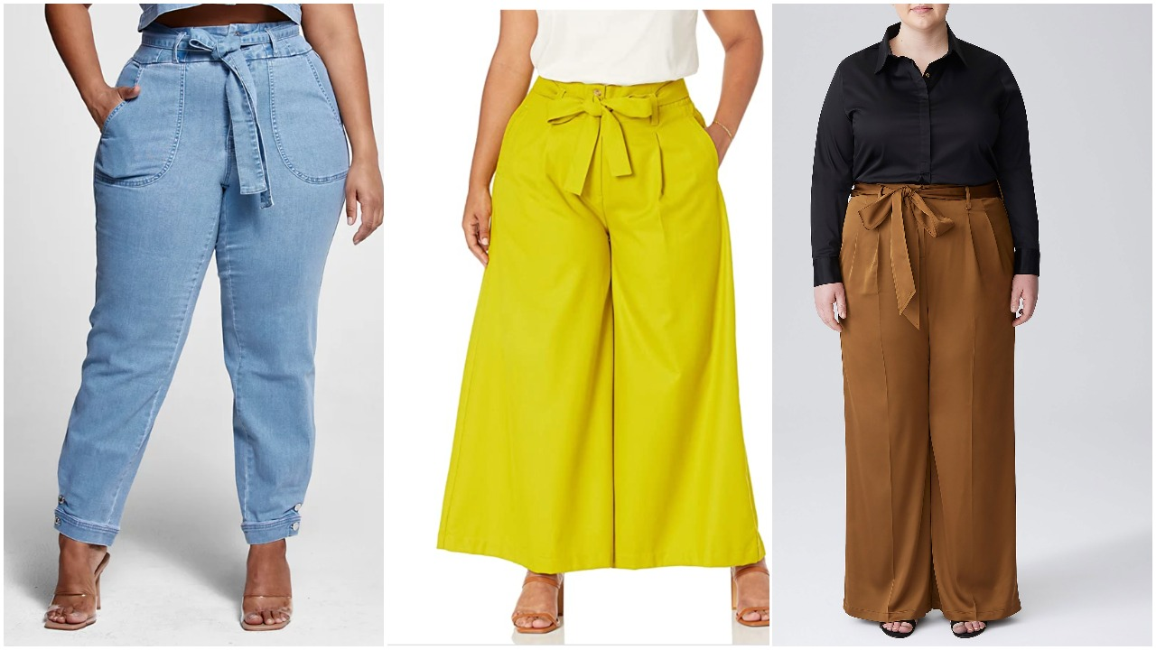 Heading back to the office? Swipe these 6 plus-size work pants before you do