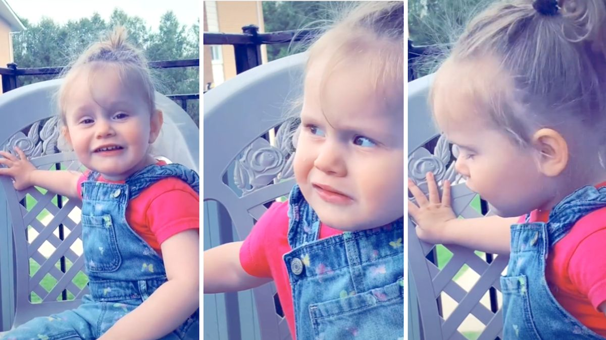 Mom thinks toddler is saying 'duck,' realizes she's actually saying 'stuck': 'This gets funnier the more I watch it' - Yahoo Lifestyle