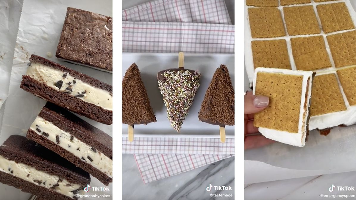 Frozen versions of popular desserts that will keep summer going all year round