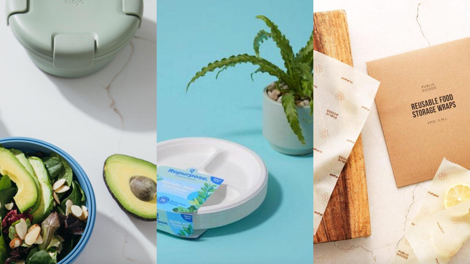 Sustainable picnic products