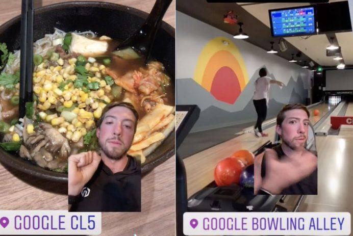Google office perks