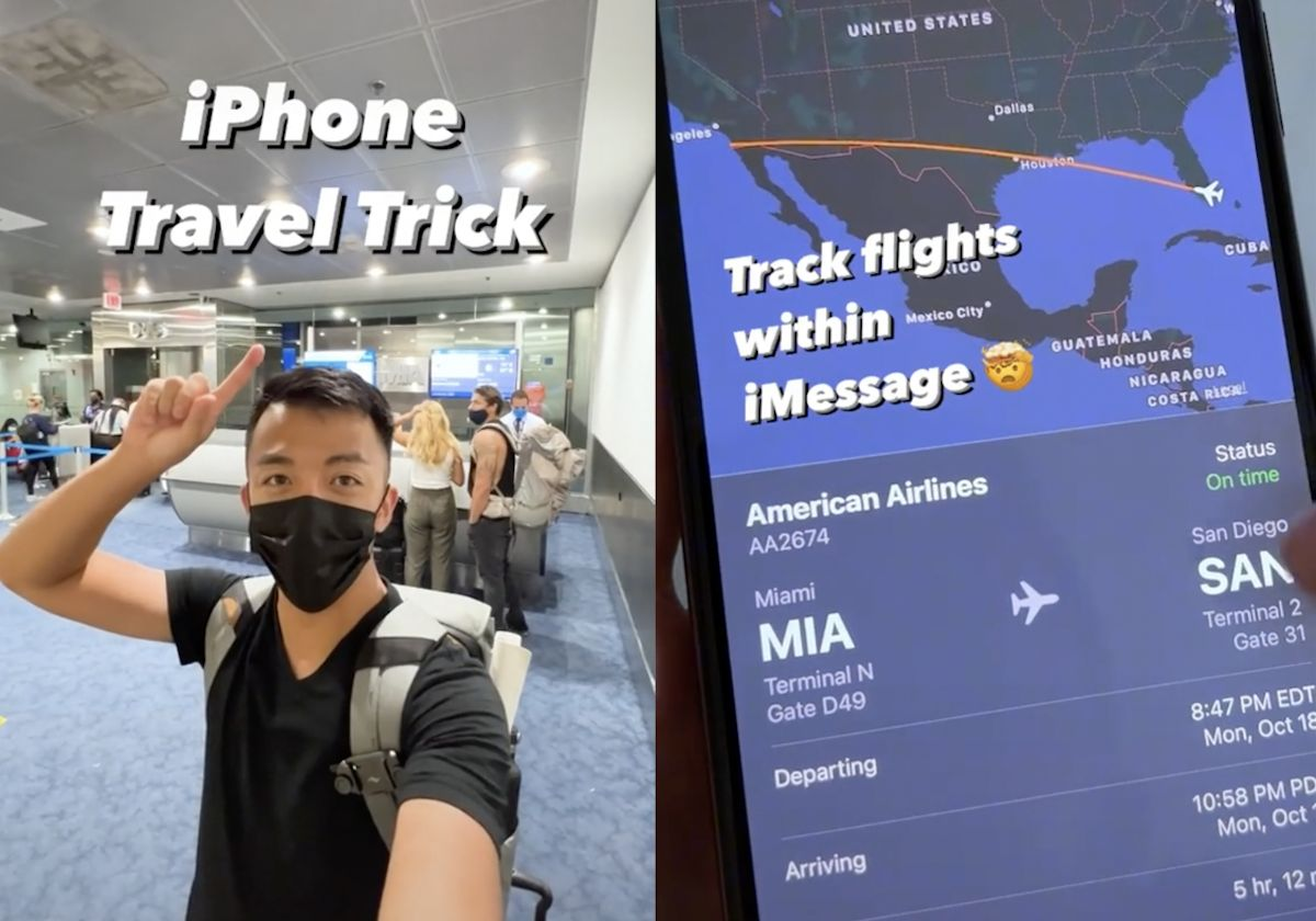 Airline passenger reveals 'mind-blowing' hack for tracking flights on your phone