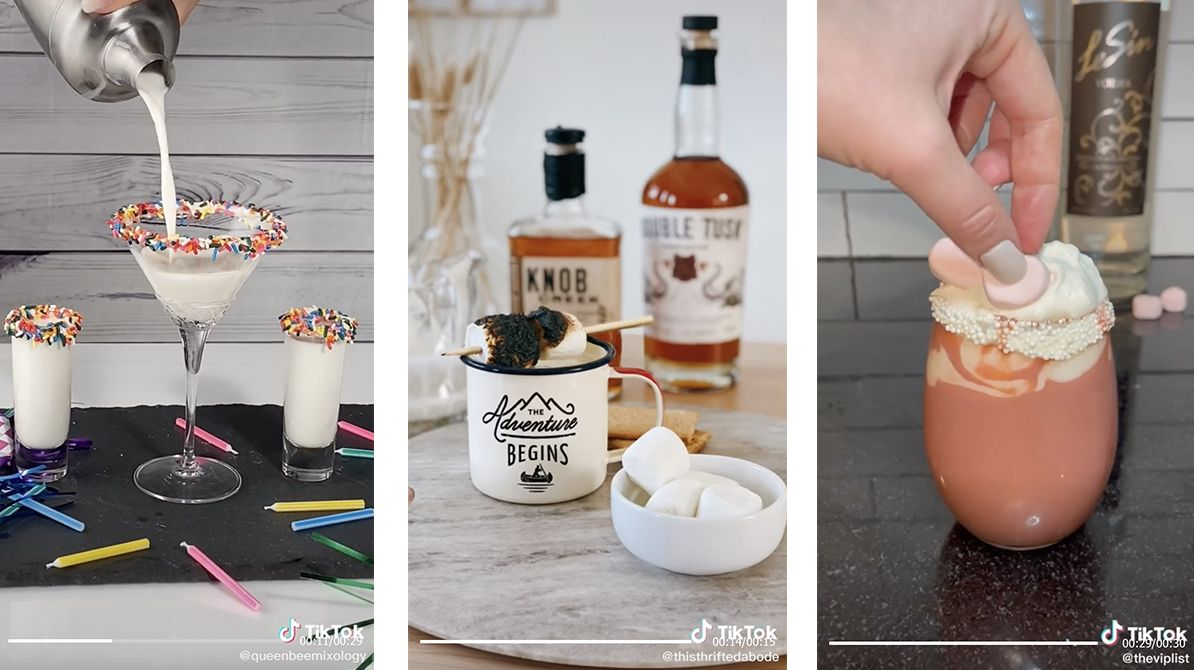 Dessert-inspired cocktails to satisfy your sweet tooth